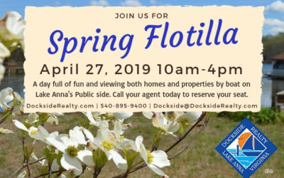 Dockside Realty's 2019 Spring Flotilla at Lake Anna